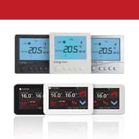 Colour Touch Screen Thermostats