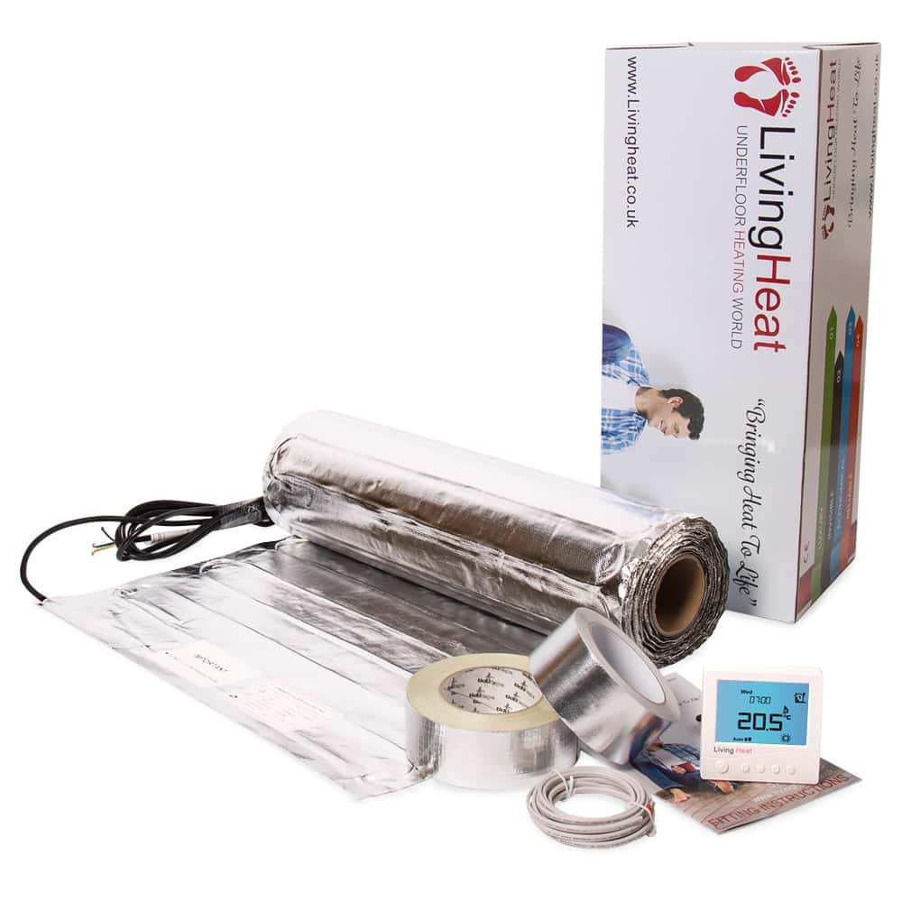 Under Wood And Laminate Floor Heating Kit 150w M2