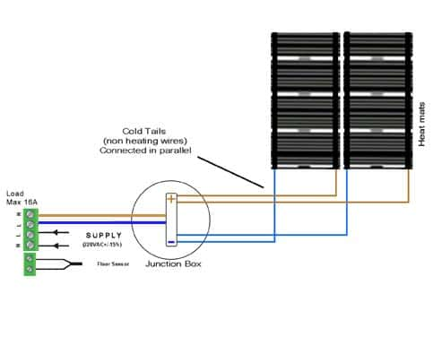 multiplemat_wiringdia installations underfloor heating world heating pad wiring diagram at aneh.co