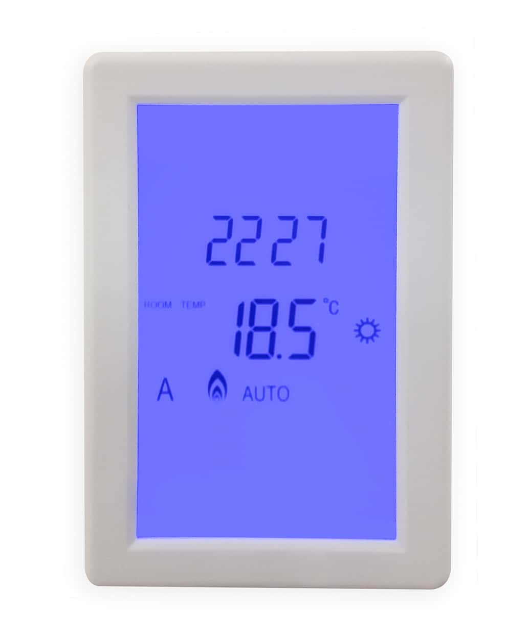 Underfloor Heating Touch Screen Thermostat For All Under Floor Heating  #0104CA
