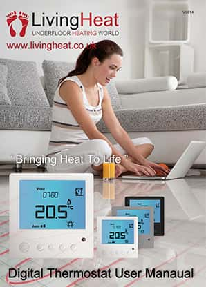 Underfloor Heating world Tr3 Thermostats