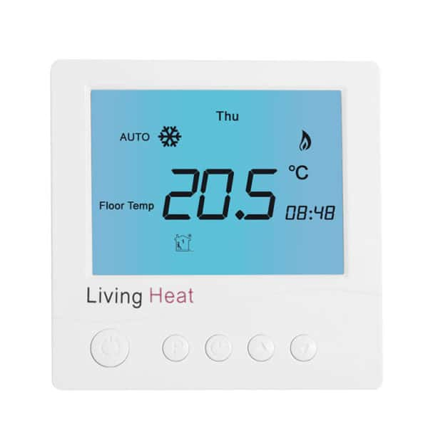 Underfloor heating controller D600 White Digital Thermostat