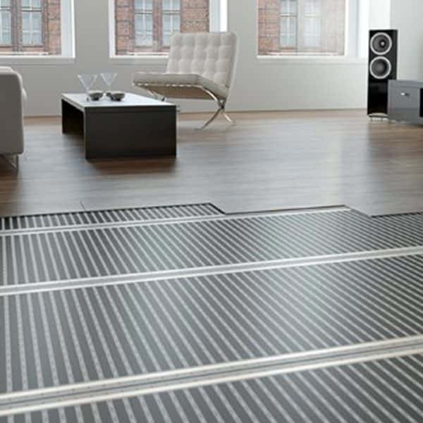 Underfloor heating carbon heat film