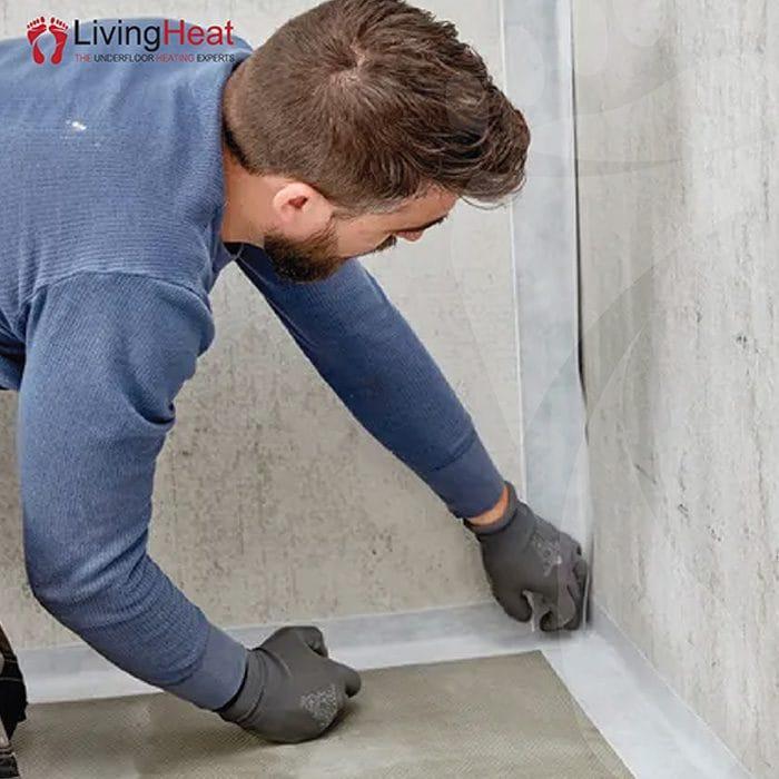 Tanking Tape For Waterproofing Living Heats Aquaseal