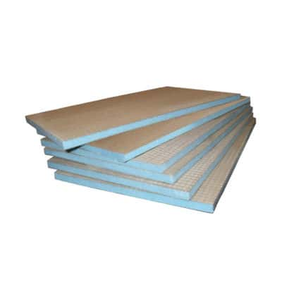 Underfloor heating Tile backer insulation boards
