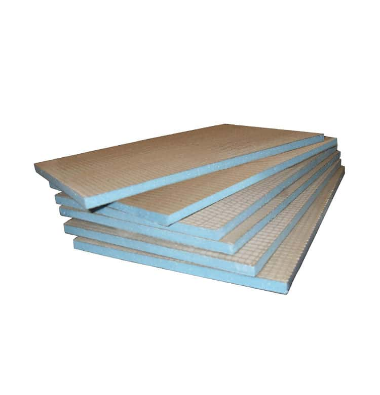 Tile backer insulation boards