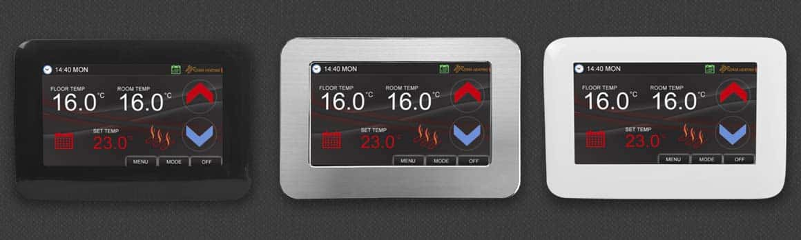 CT1000 - Colour Touch Screen Thermostat