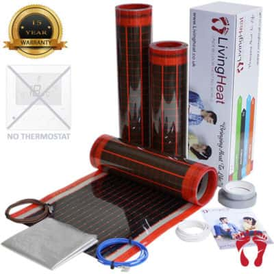 Under Floor Heating Film - 200w For Under Wood and Laminate Heating