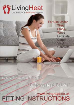 underfloor heating installation instructions