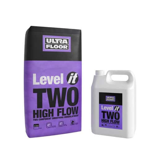 underfloor heating self levelling compound