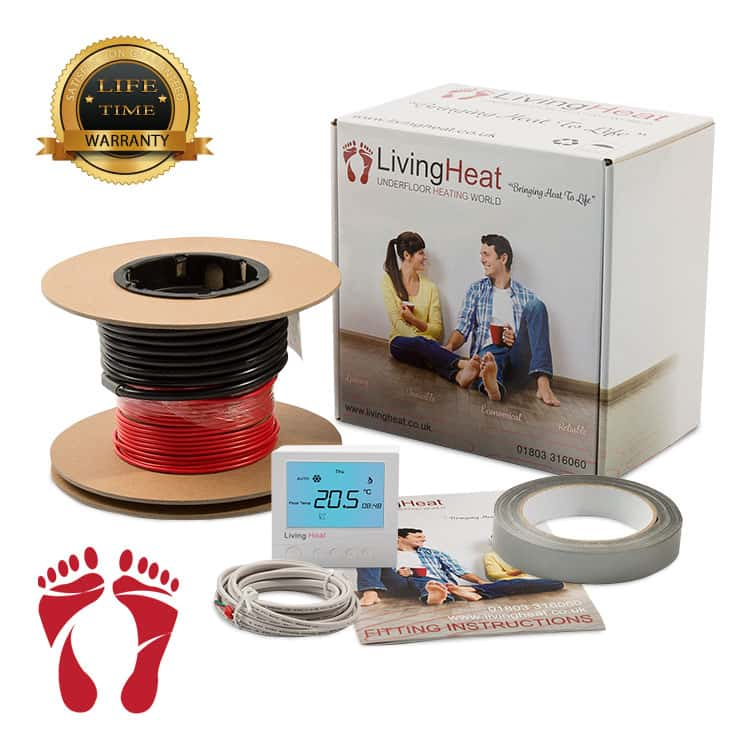 Electric Underfloor Heating Living Heat Underfloor Heating