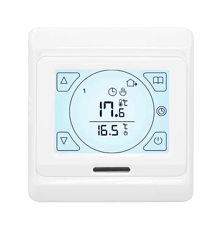 T700 White Touch Screen Thermostat