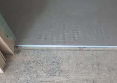 Tile Backer Board Typical installation
