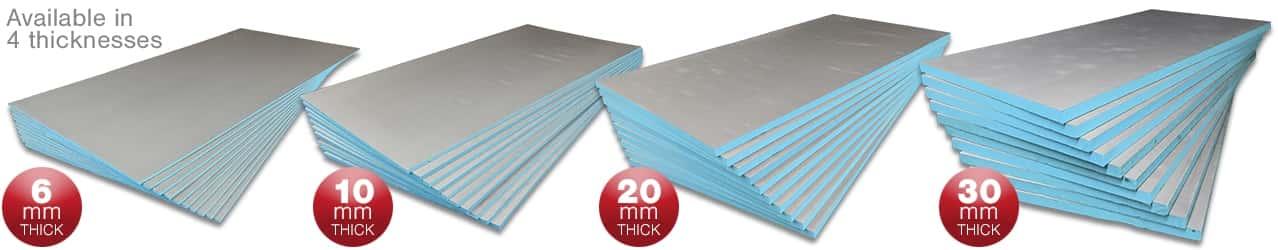 Tile Backer Board Insulation
