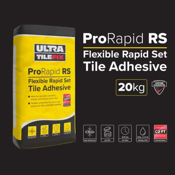 UltraTile Fix ProRapid RS Flexible TIle Adhesive