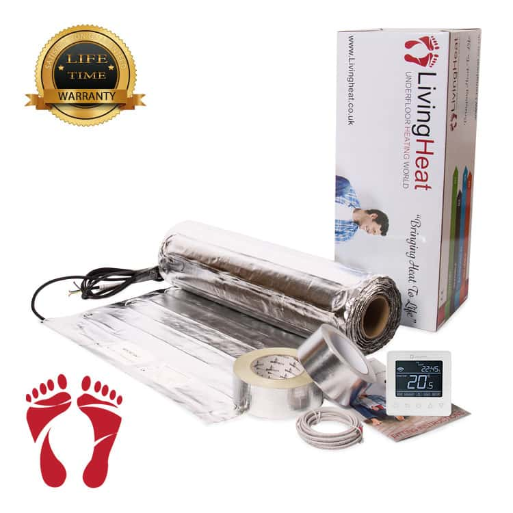 underfloor heating foil systems