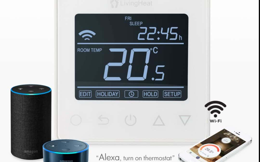 Control your underfloor heating with (alexa) or amazon echo