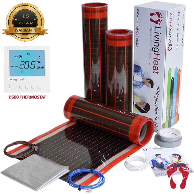 200w Heat Film Under Laminate Floor Heating
