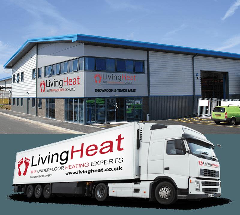 Living Heat Electric underfloor heating Torquay underfloorheating systems