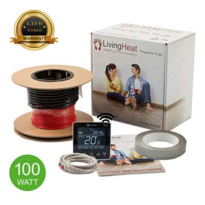 Living Heat 100 Watt Under Floor Heating loose Cable System