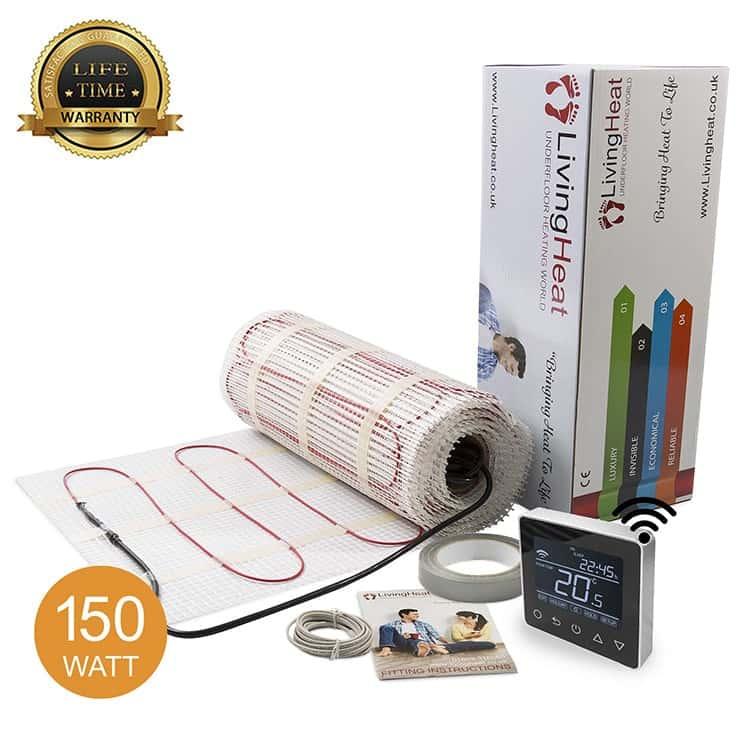 underfloor heating mats 150w