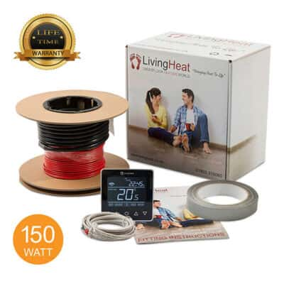 Living Heat 150 Watt Under Floor Heating loose Cable System