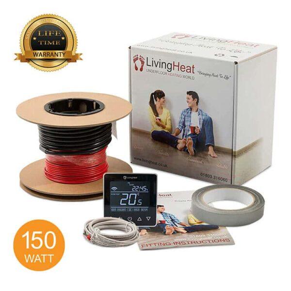 Living Heat 150 Watt Under Floor Heating loose Cable System