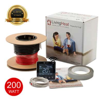 Living Heat 200 Watt Under Floor Heating loose Cable System