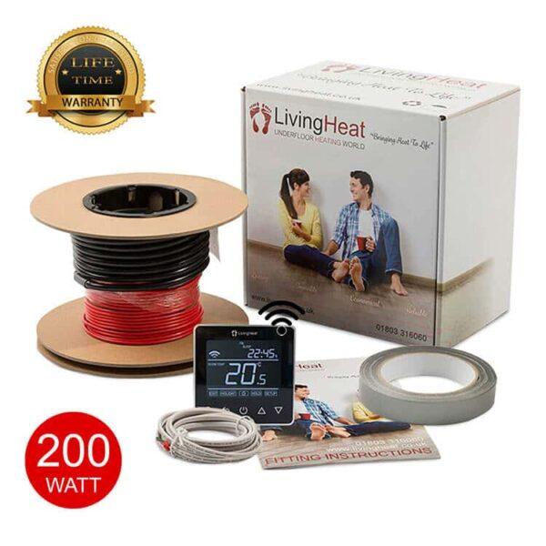 Living Heat 200 Watt Under Floor Heating loose Cable System